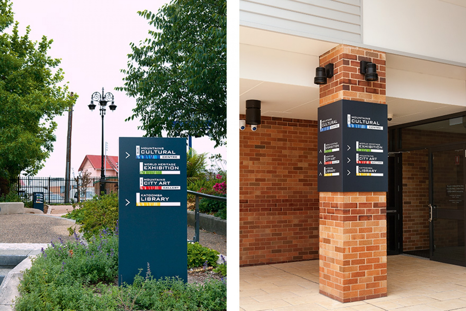 Blue Mountains Cultural Centre Brand and Wayfinding
