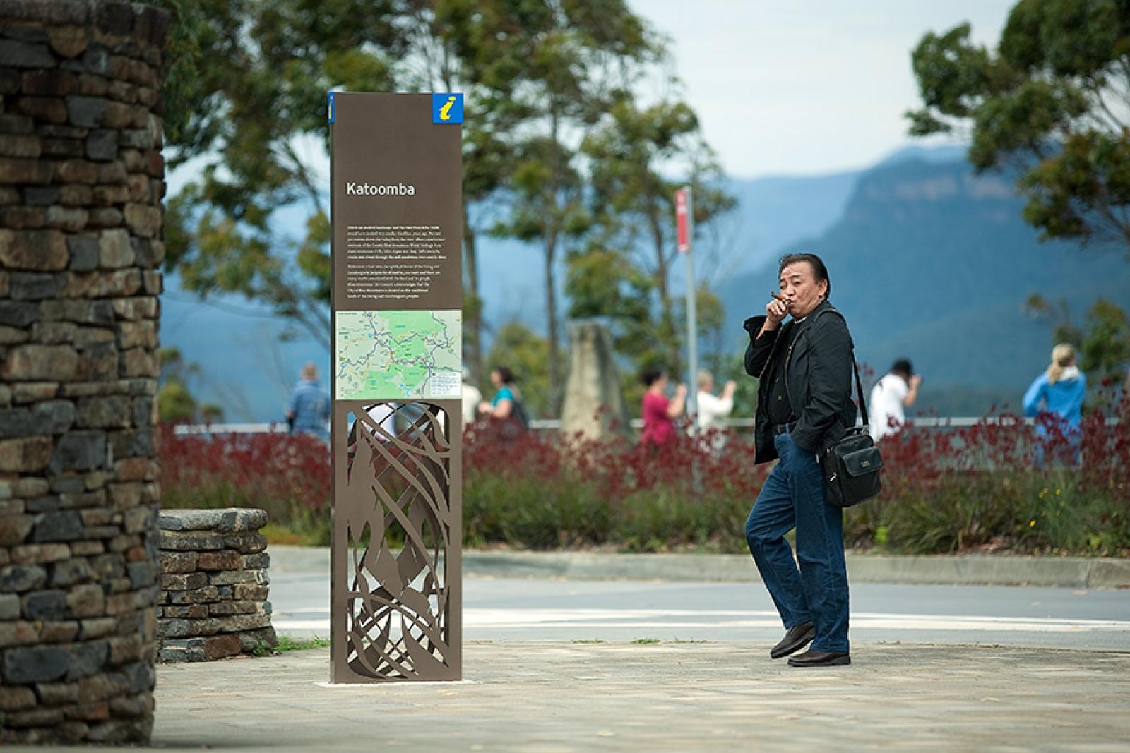 Blue Mountains City Council Wayfinding