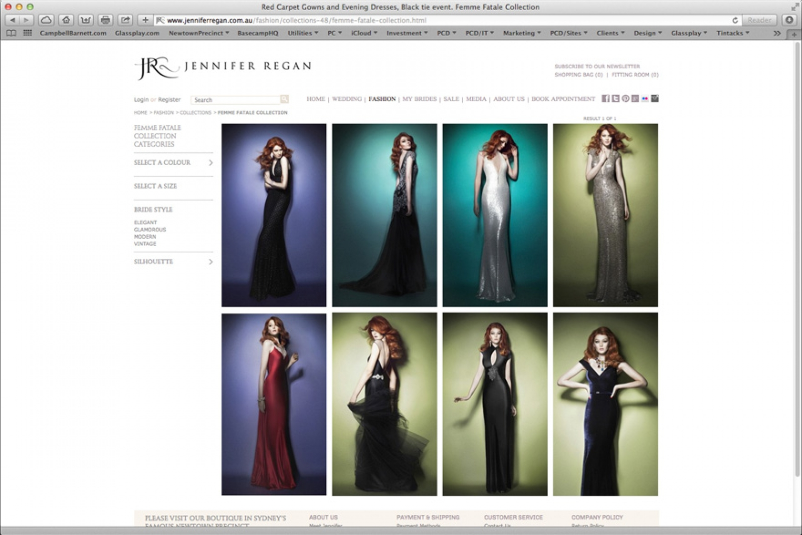 Jennifer Regan Website