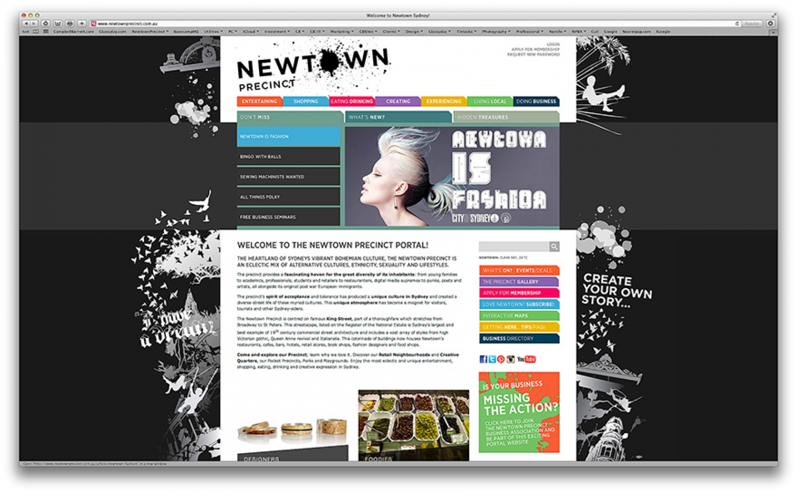 Newtown Precinct Web Portal