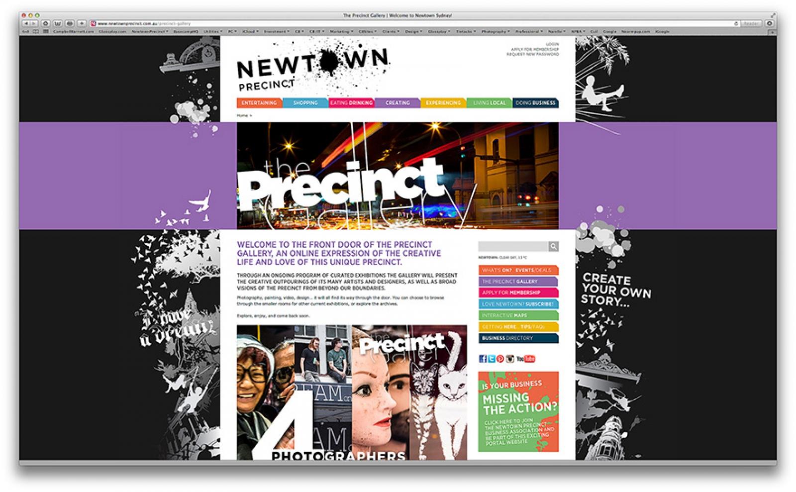 Newtown Precinct Web Portal