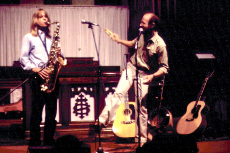 Peter Campbell in concert with Michael Houghton