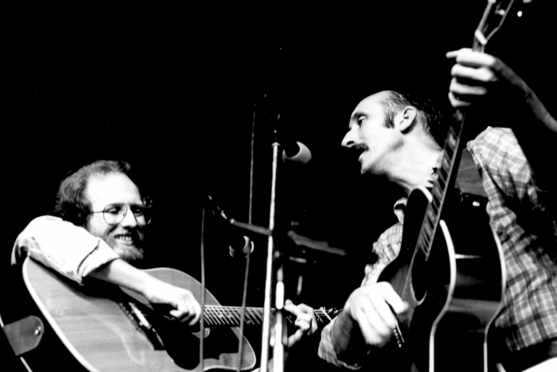 Peter Campbell in concert with Noel Paul Stookey of PP&M