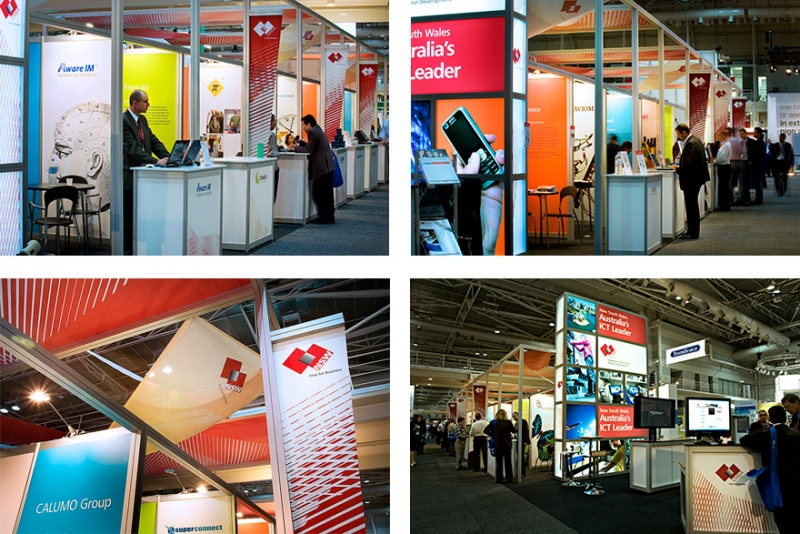 T+I Trade Show Stand