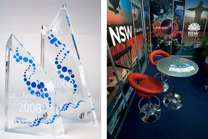 T+I Trophies and Tradeshow