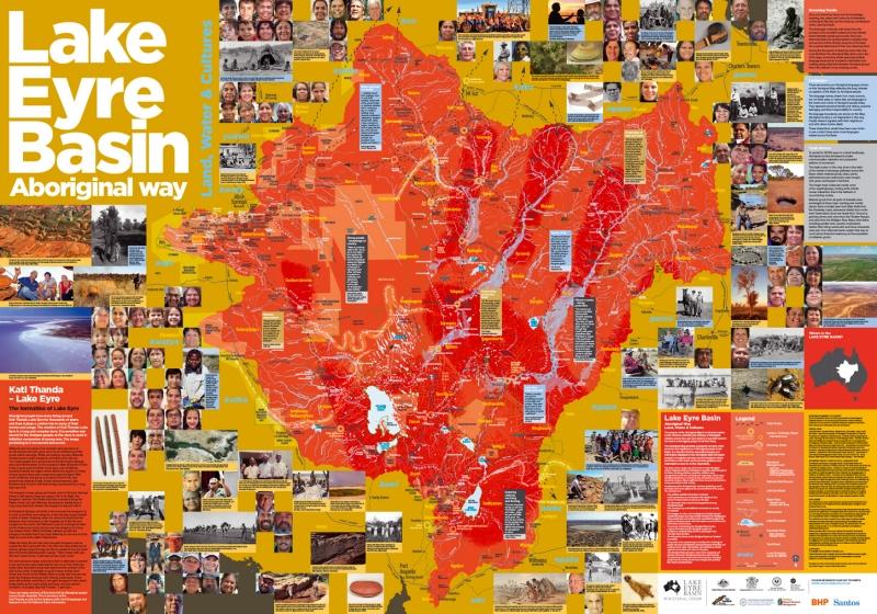 Lake Eyre Basin Aboriginal Map